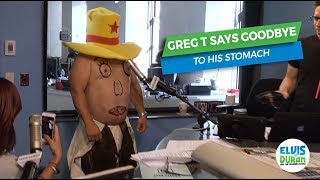 Greg T Gives Eulogy to His Stomach   Elvis Duran Exclusive