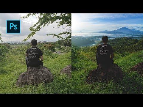 Cara Ganti Background Foto Agar Lebih Menarik - Photoshop Tutorial Indonesia