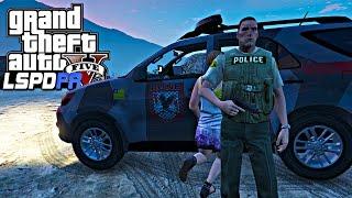 GTA V Rotina Policial: Patrulhamento em Sandy Shores Ep.136