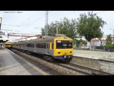 Passenger Trains in Lisbon, Portugal