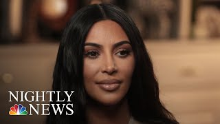 Kim Kardashian, Alice Johnson Meet For First Time In TODAY Interview | NBC Nightly News