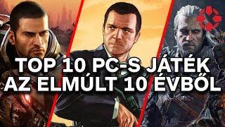 Az elmúlt 10 év legjobb PC-s játékai
