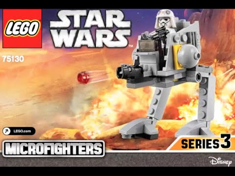 How To Build Lego Disney Star Wars 75130 Instructions Youtube