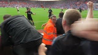 Javier hernandez goal & celebration | southampton v west ham | west ham fans