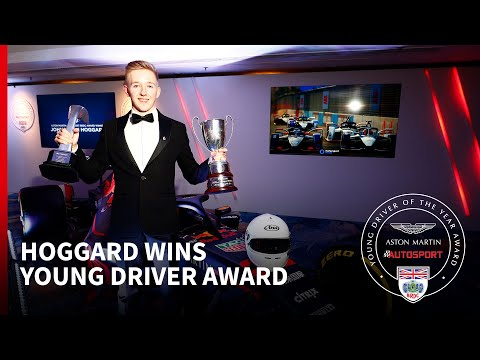 Johnathan Hoggard Wins The 2019 Aston Martin Autosport BRDC Young Driver Of The Year