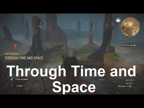 Find the Next Passage in Overgrown Area - Through Time and Space - The Witcher 3 Wild Hunt