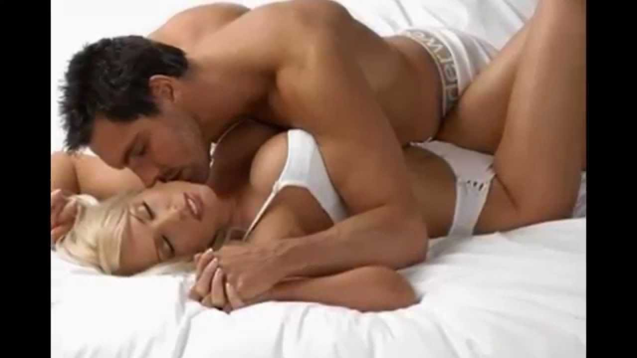 Hot sex naked couple romantic