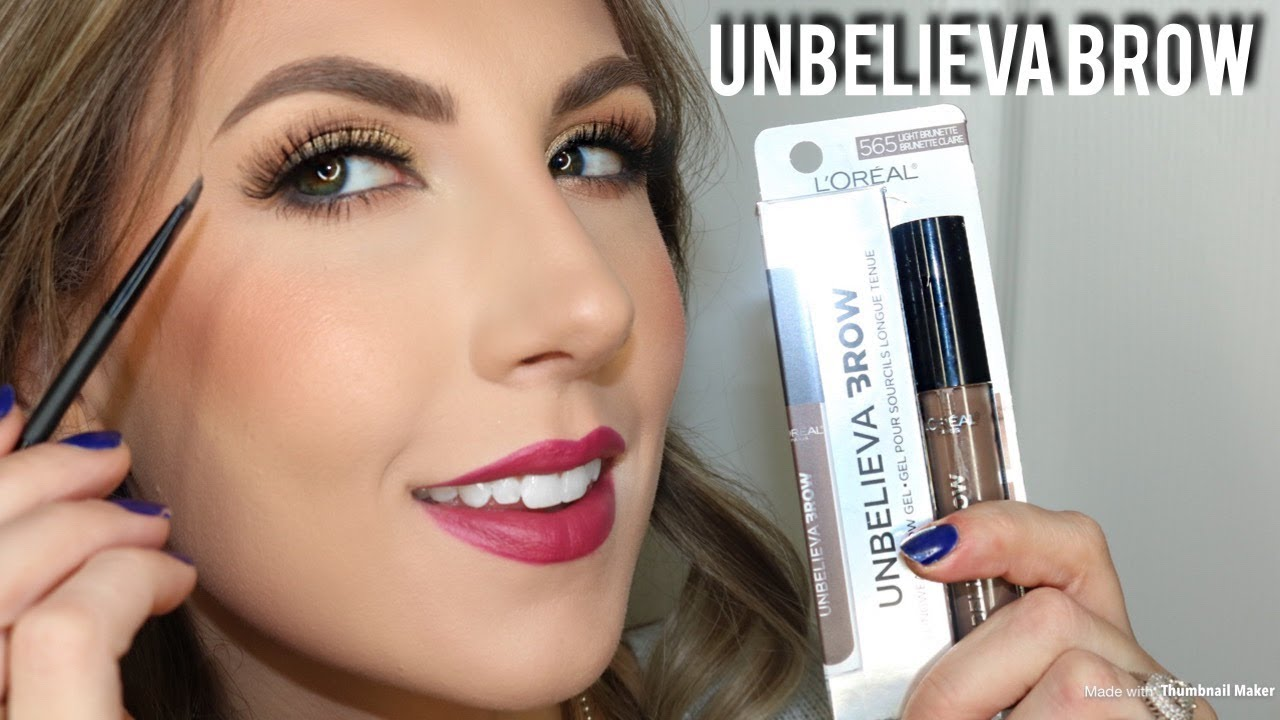 6b0a5fdee86c NEW! LOREAL UNBELIEVA BROW | REVIEW & DEMO - YouTube