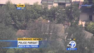police pursuit criminal suspect wanted with assault rifle part 2 socal june 09 2014