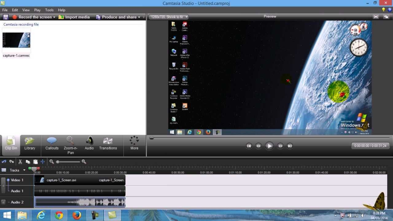 convert camrec to mp4 without camtasia