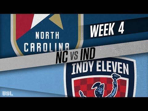 North Carolina FC vs Indy Eleven: April 7, 2018