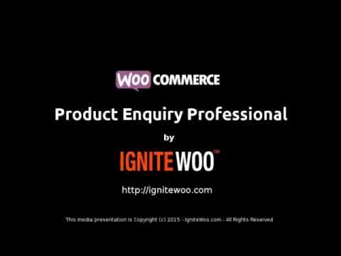 Woocommerce Product Enquiry Professional