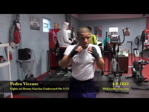 Pedro Vicente Interview & Action Highlights from DSG Boxing Gym