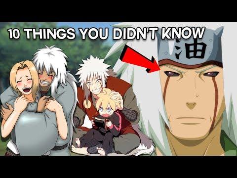 10 Things You Didn't Know About Jiraiya - Boruto & Naruto