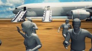 アシアナ事故機 手前で降下か