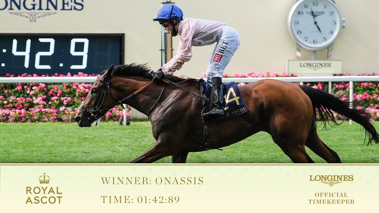 Onassis Wins The Sandringham Stakes - YouTube