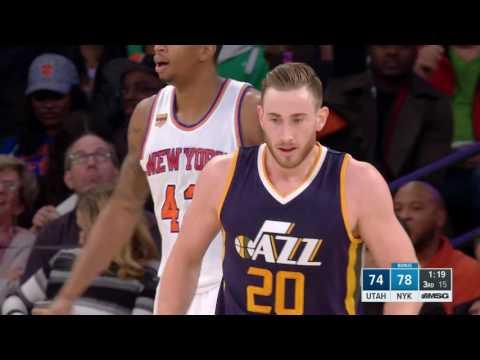Utah Jazz vs New York Knicks | November 6, 2016 | NBA 2016-17 Season