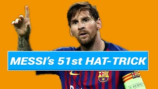 Lionel Messi scores 51st Hat Trick | Real Betis vs Barcelona | Unbelievable Goals from the GOAT