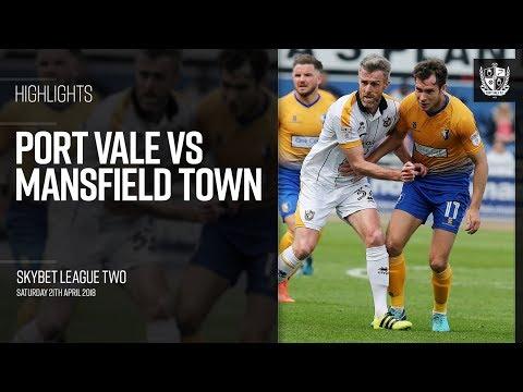 Mansfield v Port Vale