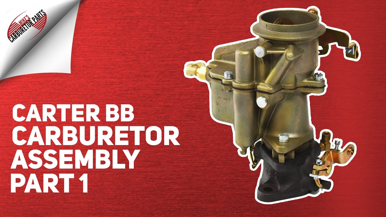Chry Carter BB BBR1 with instructions Carburetor Kit 1933-1954 6 Plymouth