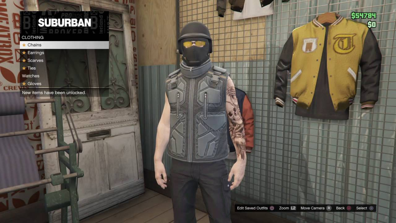 GTA V Tactical stealth outfit - YouTube
