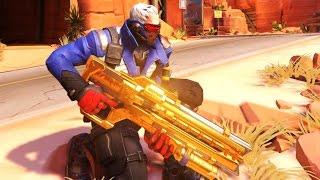 Overwatch - The Golden Hero