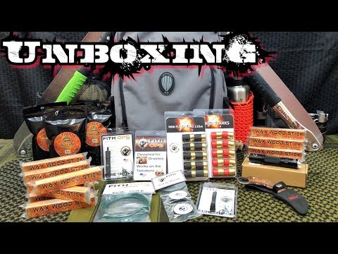Unboxing Camping & Survival Gear   Awesome Giveaway
