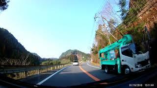 2018年1月19日 ドライブレコーダー 車載動画 九州 鹿児島 Drive recorder FHD0012 thumbnail