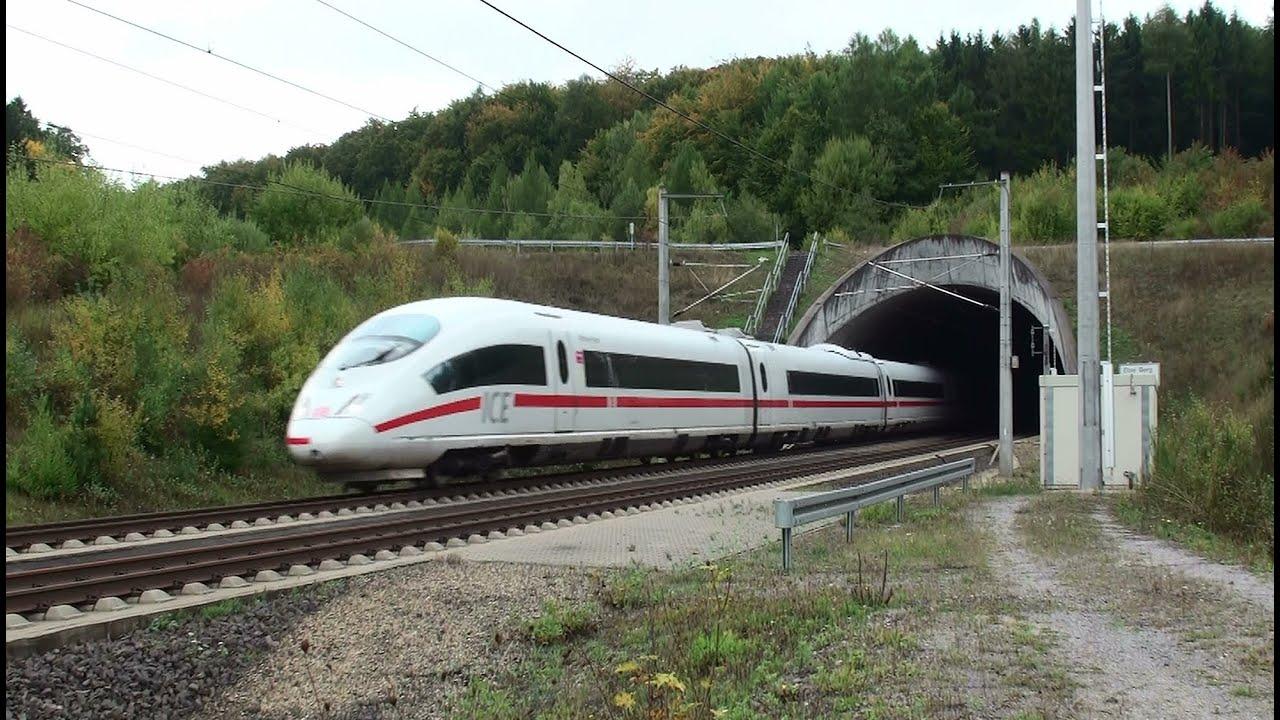 ICE Schnellfahrstrecke Köln-Rhein/Main am Tunnel Elzer