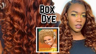 THE PERFECT FALL HAIR COLOR USING BOX DYE 🍂 | AFFORDABLE PRIME AMAZON WIGS | ALI PEARL HAIR