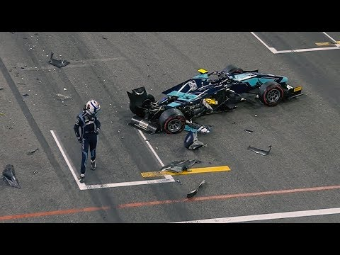 Top 5 Formula 2 Moments | Abu Dhabi Grand Prix