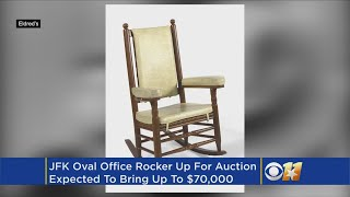 Rocking Chair Among Iconic JFK Memorabilia Being Auctioned