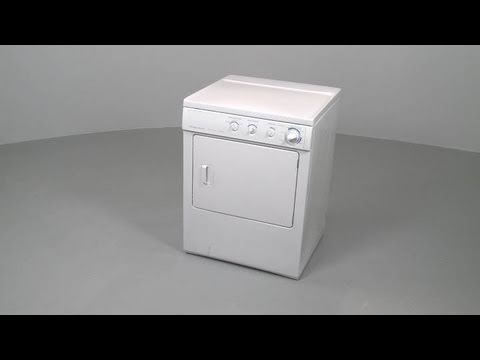 Frigidaire Dryer Disassembly \u2013 Dryer Repair Help - YouTube