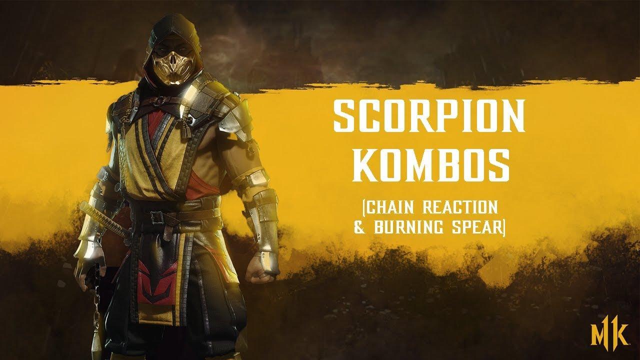 Mortal Kombat 11 Stress Test Scorpion Chain Reaction Day 1