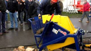 Oxdale Products Ltd Saw Bench, Log Saw, Log Splitter