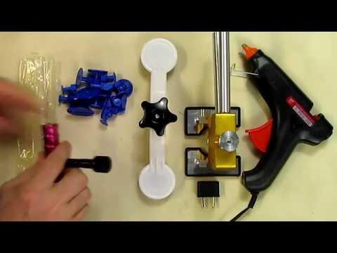 Gliston 29pcs Dent Puller Kits Dent Lifter Dent Repair Tools Pops a Dent (5 star rated)