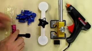Gliston 29pcs Dent Puller Kits Dent Lifter Dent Repair Tools Pops Dent Star Rated