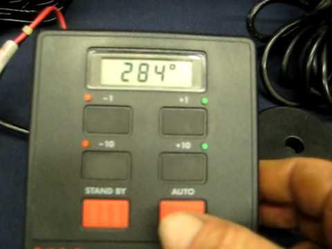 furuno transducer wiring diagram house electrical india autohelm st4000 youtube