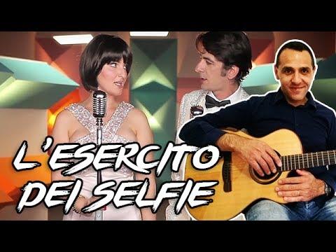 L' Esercito del Selfie - Chitarra - Facile - Senza Barrè
