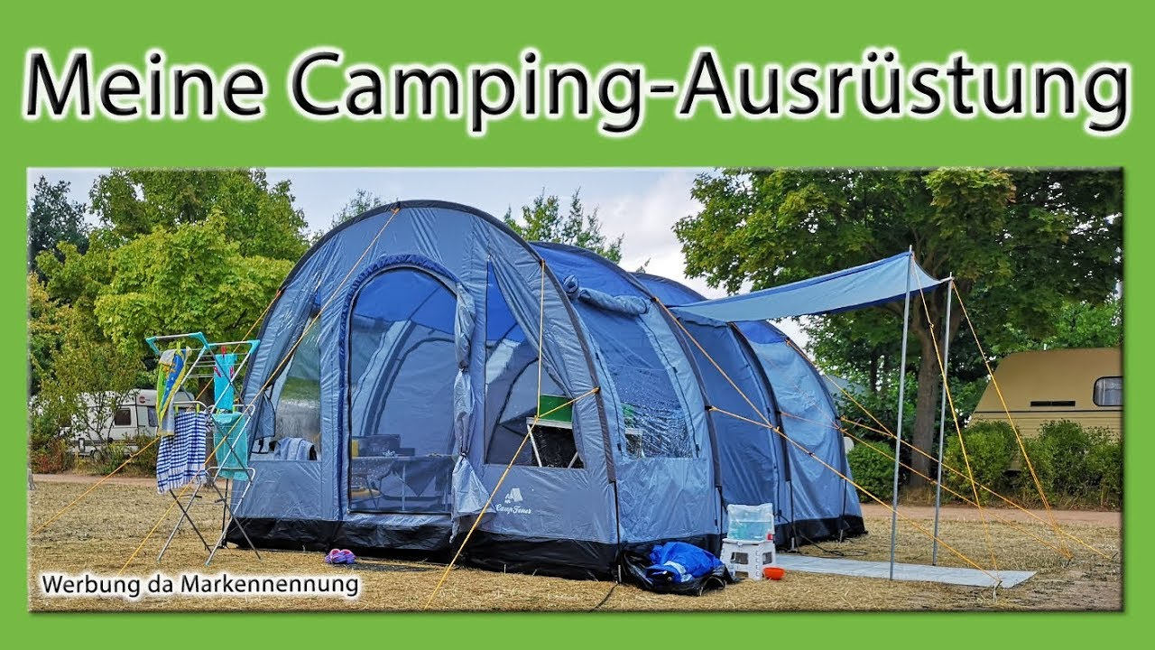 f36461f6b7a1f7 Meine Camping-Ausrüstung