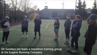 Joe Henderson on the Eugene Running community