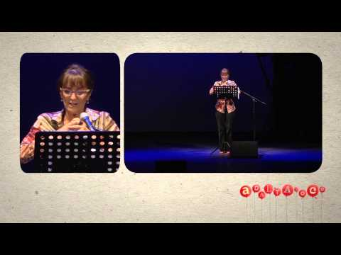 Ad alta voce 2014, Bologna, Angela Malfitano legge al Teatro Duse