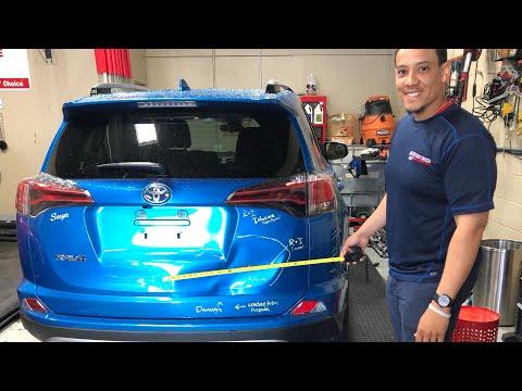 Toyota Rav4 Smash Rear Hatch Paintless Dent Repair | Stanliner Tools