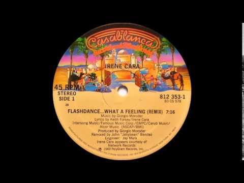 Irene Cara - Flashdance... What A Feeling (Extended Version) Casablanca Records 1983