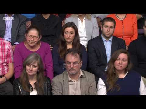 Question Time  - 8/12/16 - Nigel Farage Louise Mensch
