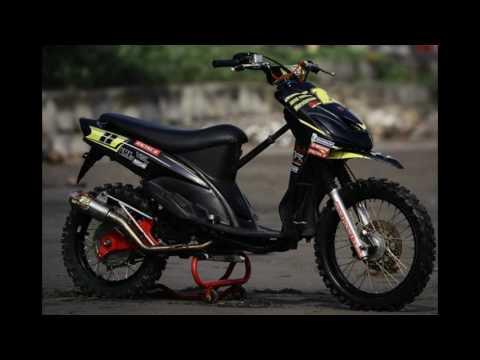 Video Modifikasi Motor Matik Yamaha Mio Modif Trail Grasstrack