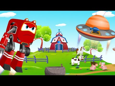 Baby Car Rikki in MacDonald Farm to Rescue farm animals | Kids Cartoon Rhymes