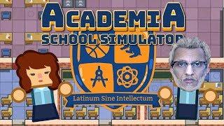 محاكي المدرسه | صار عندي مدرسه للزاحفين #1 !  Academia School Simulator