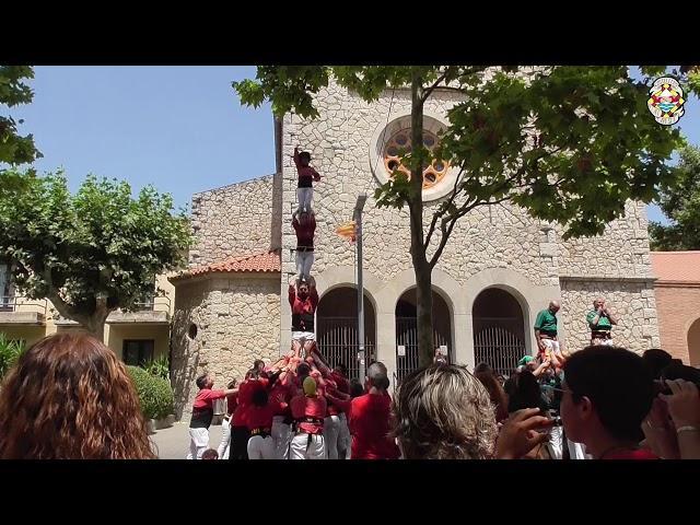 P4 (Final) Castellers Alt Maresme @ Begues (21/07/2019)