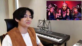 Baixar BTS 'V' Reaction to Lady Gaga, BLACKPINK - Sour Candy '신 사탕' (Official Audio)